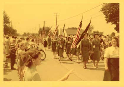 The Memorial Day Parade on Ridge Road