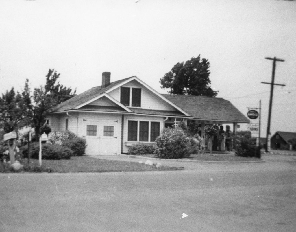 Gas Station on Ridge Road and Elmgrove Road
