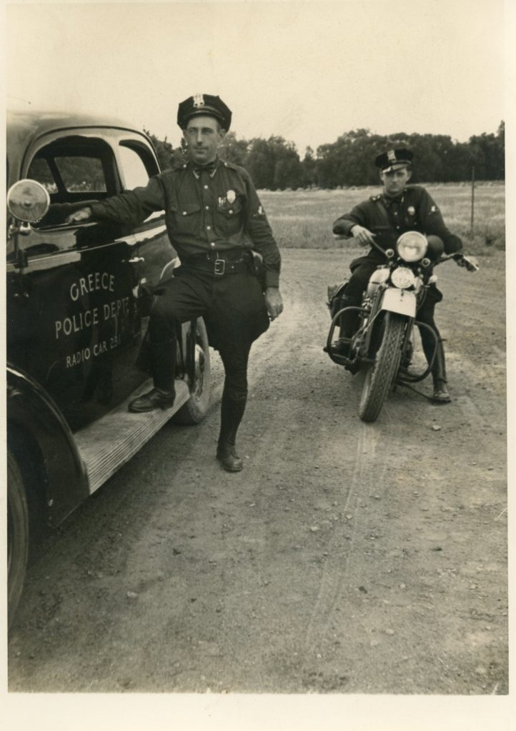 Officer William Gray and Unknown Officer