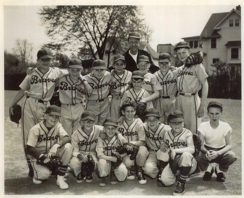 """Barnard Little League """"Braves"""" Baseball Team"""