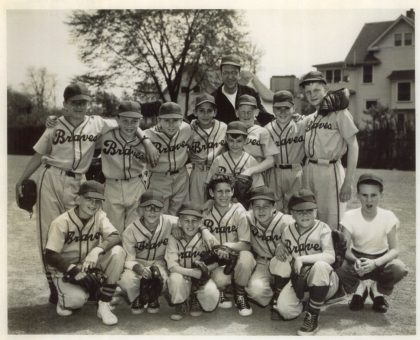 "Barnard Little League ""Braves"" Baseball Team"