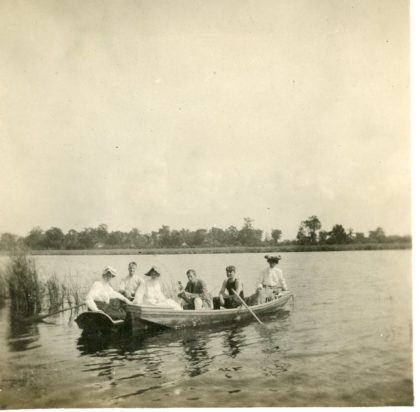Boating on Long Pond