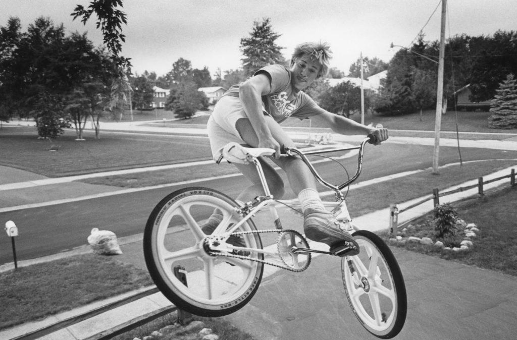Greece Teen BMX Bike Jumping