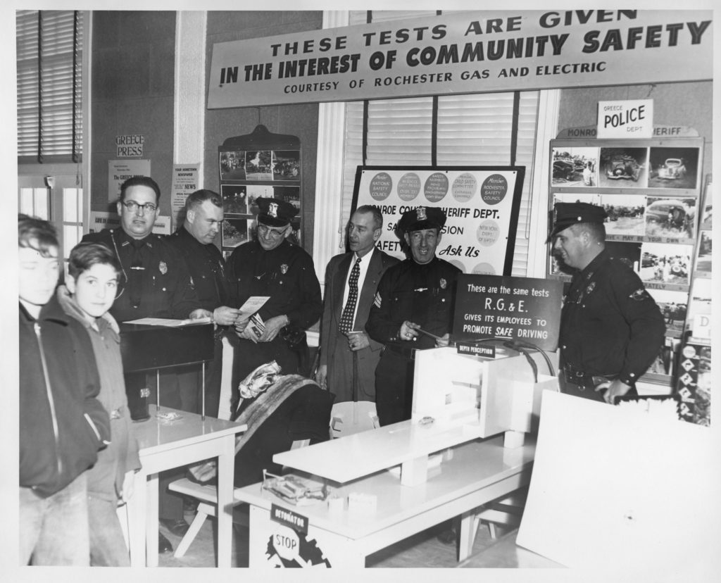Greece Police Officers at the Town of Greece Exposition