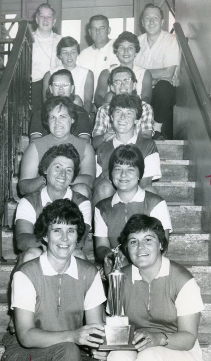 Greece Women's 1966 Softball Champions