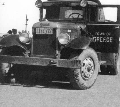 Town of Greece Department of Public Works Truck