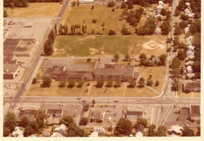 Aerial View of Britton Road School