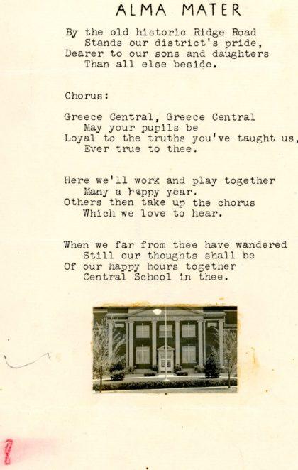 Willis N. Britton School Alma Mater Song