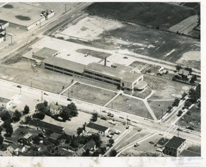 Aerial View of Britton Road School