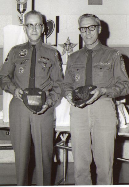 """Appreciation for Scout Masters"" Recipients"