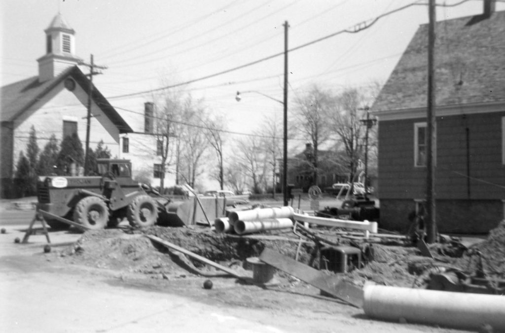 Road Construction on Long Pond and Ridge Roads