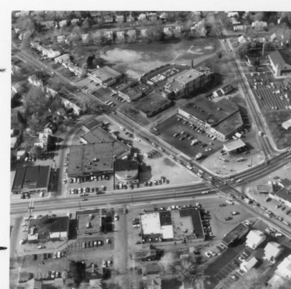Aerial View of Dewey Avenue and Stone Road