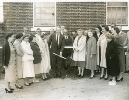 Greece Town Hall Addition Project Ceremony