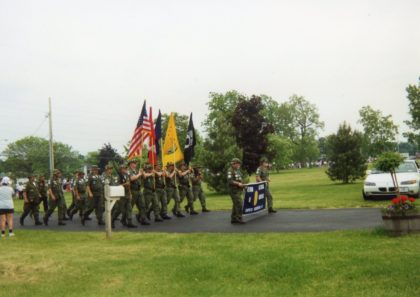 Vietnam Veterans Marching in Memorial Day Parade