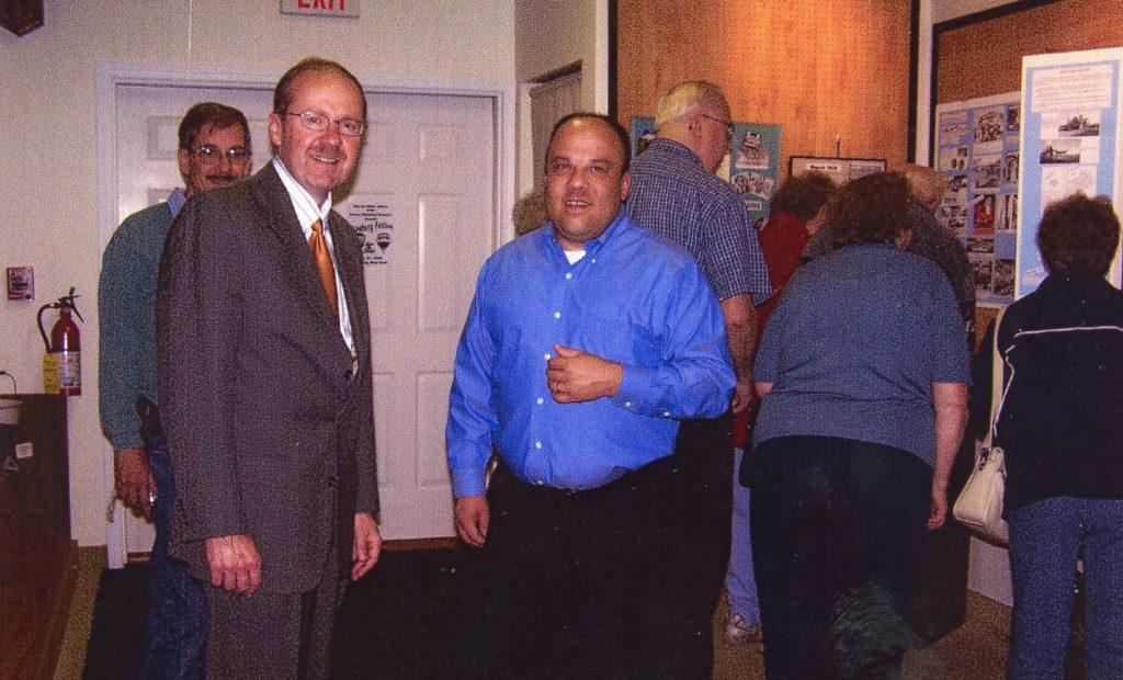 Town Supervisor John T. Auberger and Deputy Town Supervisor Jeff McCann