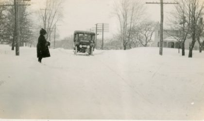 Bus Service on Ridge Road in the 1920's