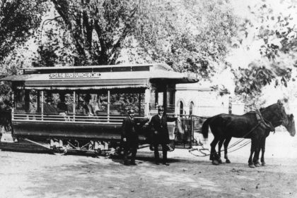 Horse Drawn Trolley Transport – Lake Avenue Line