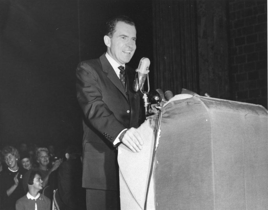 Vice President Richard M. Nixon Presidential Campaign Visit