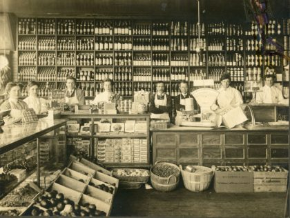 Wagg's Grocery & Provisions Store Counter