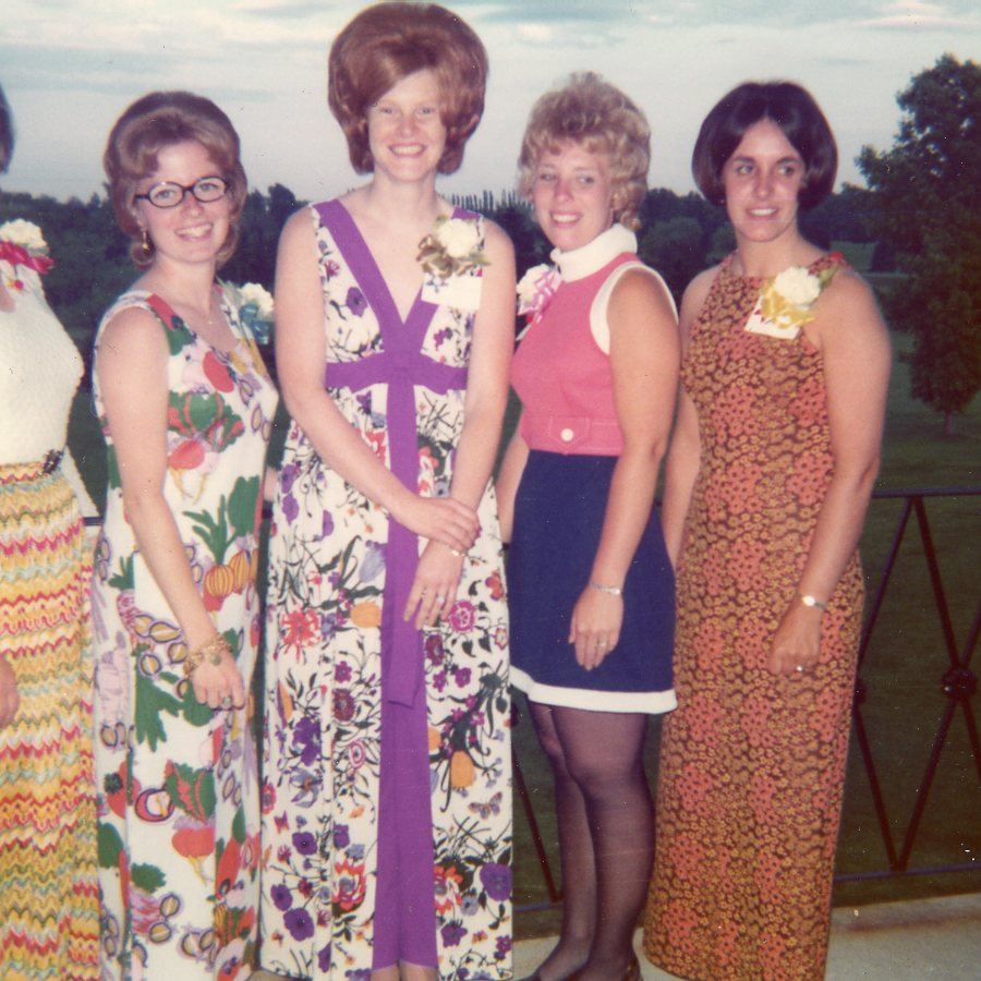 1973 Greece Welcome Wagon Club Officers