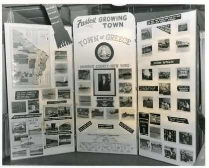 Town of Greece Exposition Celebration Display