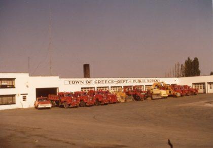 Town of Greece Department of Public Works Vehicle Fleet