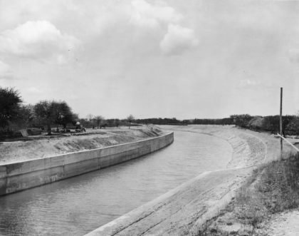 Newly Widened Erie Canal