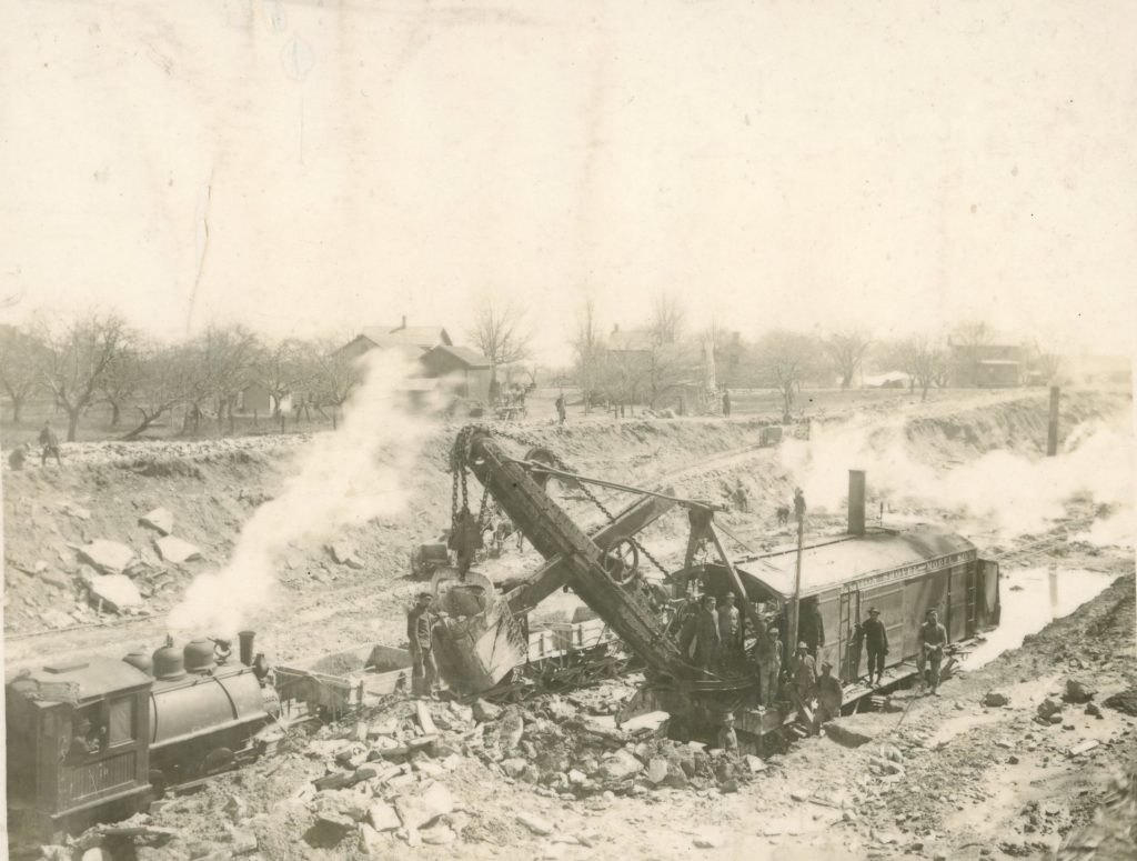 Erie Canal Widening Construction in South Greece
