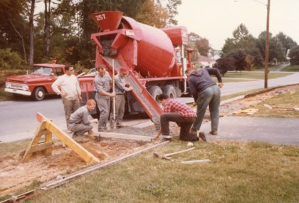 Town of Greece Department of Public Works Sidewalk Construction