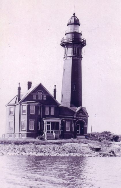 The Braddock Point Lighthouse