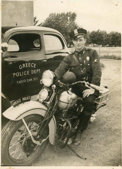 Greece Police Officer John Swanton