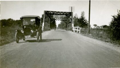 Bridge Over Barge Canal at Elmgrove Road