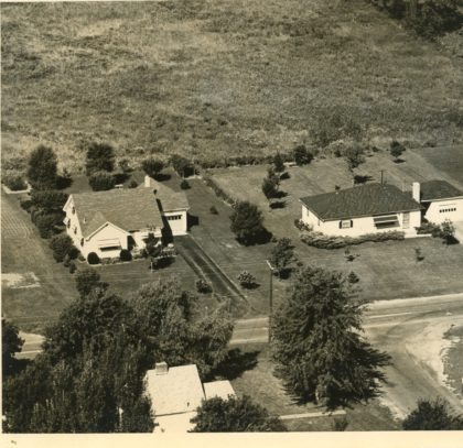 Aerial View of 131 & 135 Elmgrove Road