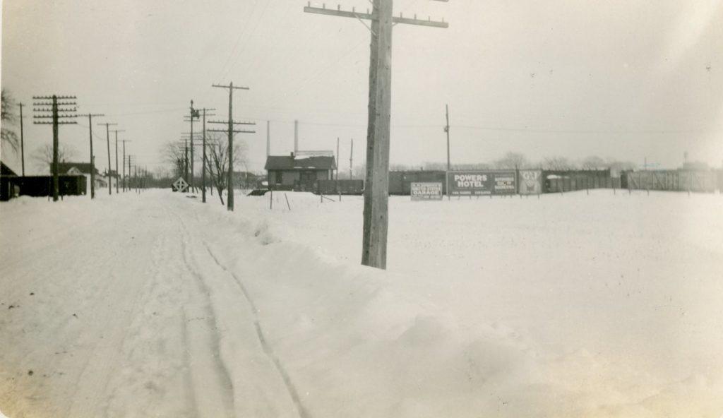 Corner of Ridge Road and Bonesteel Street