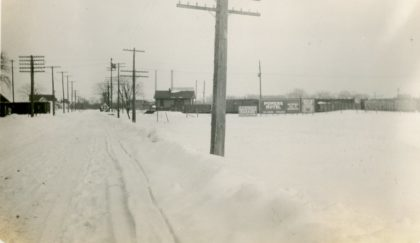 Corner of Ridge Road and Bonesteel Street