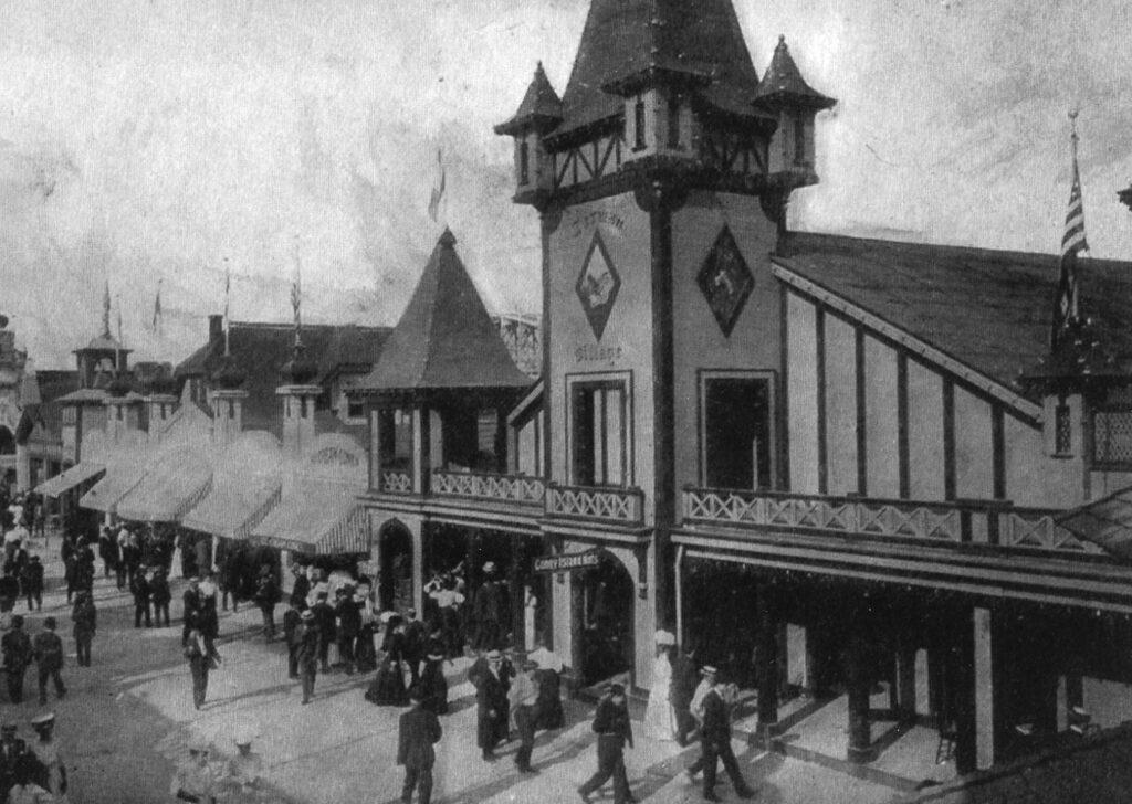 "The ""German Village"" at Ontario Beach Park"