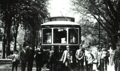 Manitou Trolley at Charlotte Station