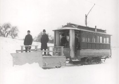 Rochester Electric Railway Plow Car