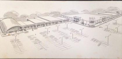 Ridgemont Plaza Architectural Drawing
