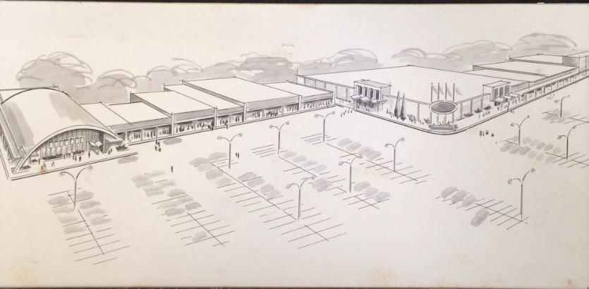 Ridgemont Plaza Architectural Drawing