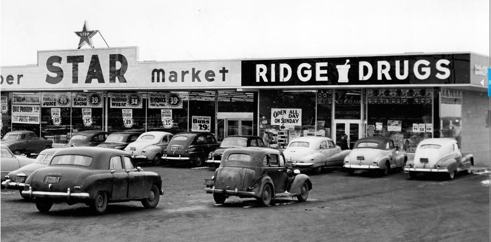 Star Market in Ridgecrest Plaza