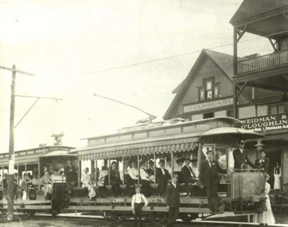 Manitou Trolley at Elmheart Hotel